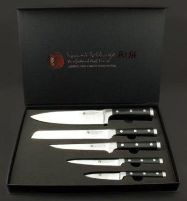 Izumi Ichiago Messersets bei top12, z.B. 5-teiliges Kochmesser-Set