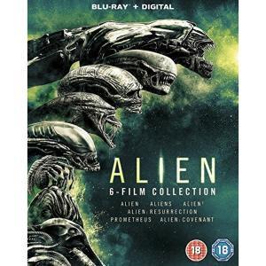 Alien 1-6 Blu-ray Collection (6 Blu-rays +digitale Kopien) für 13,24€ inkl. Versand