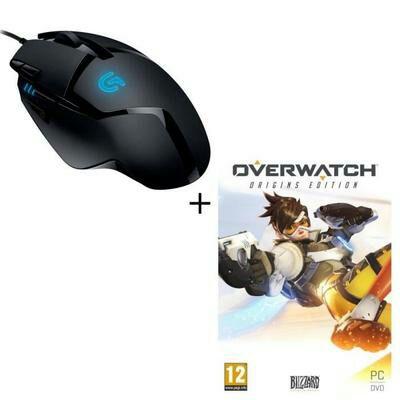 LogitechG402 Gaming-Maus Hyperion Fury + Overwatch Edition Origins (PC) für 39.99€ (Cdiscount)