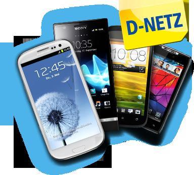 Vodafone Netz: Alle Netze 100 Minuten + 100 SMS + 500 MB (danach Drosselung) für 9,95 €