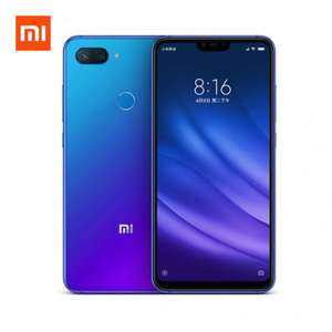 Xiaomi Mi 8 Lite SD 660 Smartphone 6GB 128GB Global Version Band 20 ! USB-C Schwarz und Blau