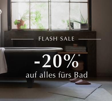 20% Rabatt auf die Badezimmer-Kategorie (auch Sale) ab 50€ MBW bei Urbanara, z.B. Wäschekorb aus Rattan