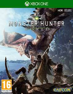 Monster Hunter World (Xbox One & PS4) + Origin Armour set Male & Female and Fair Wind Charm DLC an 22,751€ (ShopTo)