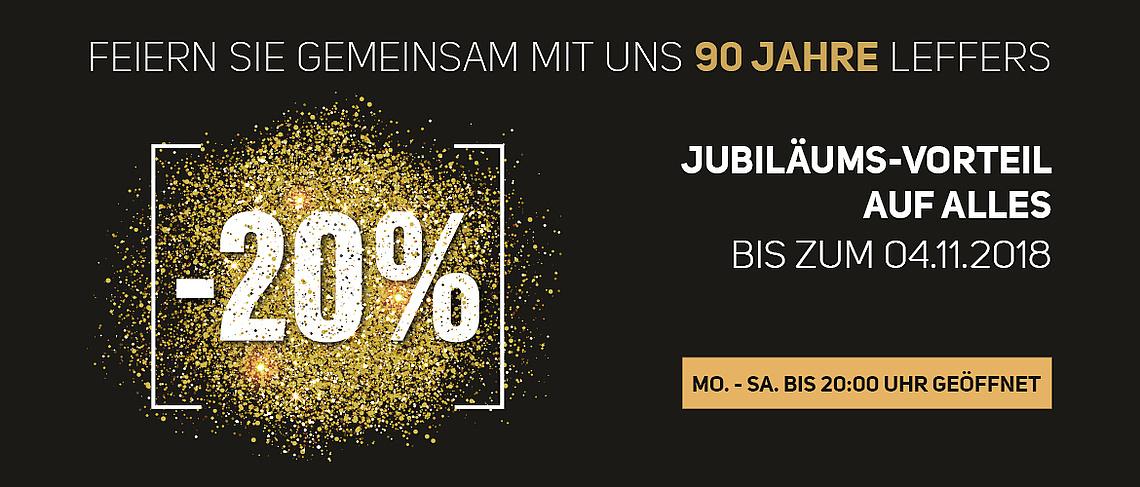 Leffers Oldenburg (bundesweit?) 20 Prozent auf alles