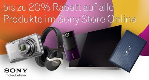 """20% Rabatt auf Sony Artikel - über Allmaxxlink - auch für nicht-Studenten - z.B. Sony 55"""" HX855 für 1679,- EUR inkl. Versand"""