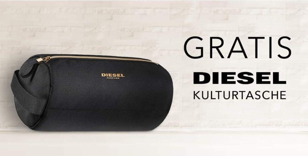 Douglas - Gratis Diesel Kulturtasche beim Kauf von Aktionsprodukt