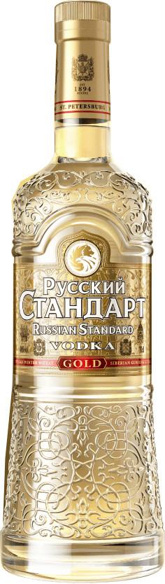 [lokal] für Grenzgänger zu CZ - Russian Standard Gold 1L (Ginseng flavoured)