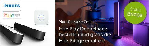 Philips Hue Play Doppel-Pack inkl. Hue Bridge