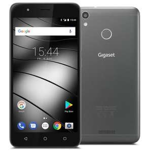 "Gigaset GS270 plus Smartphone 32GB Grey [13,3cm (5,2"") Full HD-Display, Android 7.0, (Mit Update Oreo 8.1) 1.5 GHz Octa-Core, 13MP] blau"