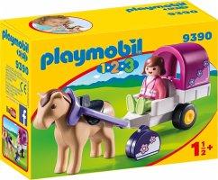 Playmobil™ - 1.2.3: Pferdekutsche (9390) ab €4,72 [@Buecher.de]