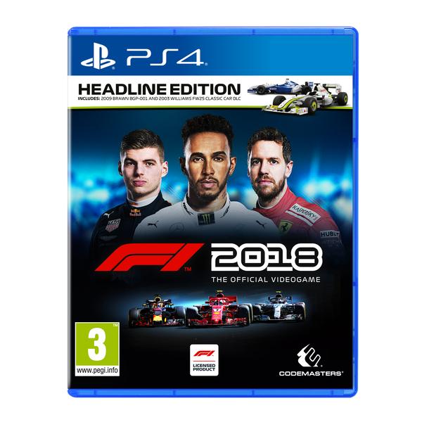 F1 2018 Headline Edition (PS4) für 36,02€ (Shop4World)