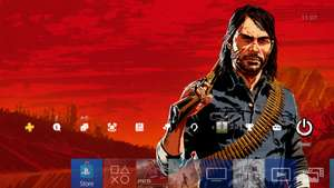 Red Dead Redemption 2 (RDR2)  dynamisches Playstation 4 Theme @PSN Store