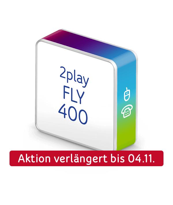Mehr für dich drin WOCHEN! zB. 2play FLY 400 für effektiv 19,99€ [Unitymedia]