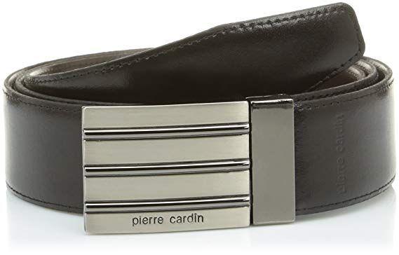 Pierre Cardin Herren Gürtel 110 cm schwarz