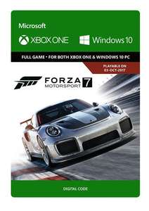Forza Motorsport 7 (Xbox One/PC Digital Code Play Anywhere) für 17,09€ (CDkeys)