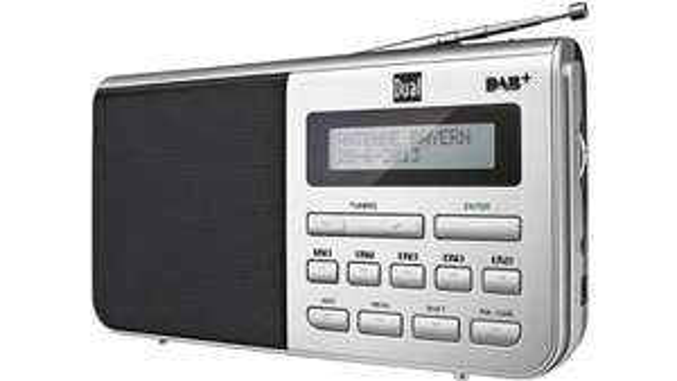 Dual DAB+ Tischradio DAB 4.1 DAB+, UKW, AUX Silber, Schwarz [digitalo]