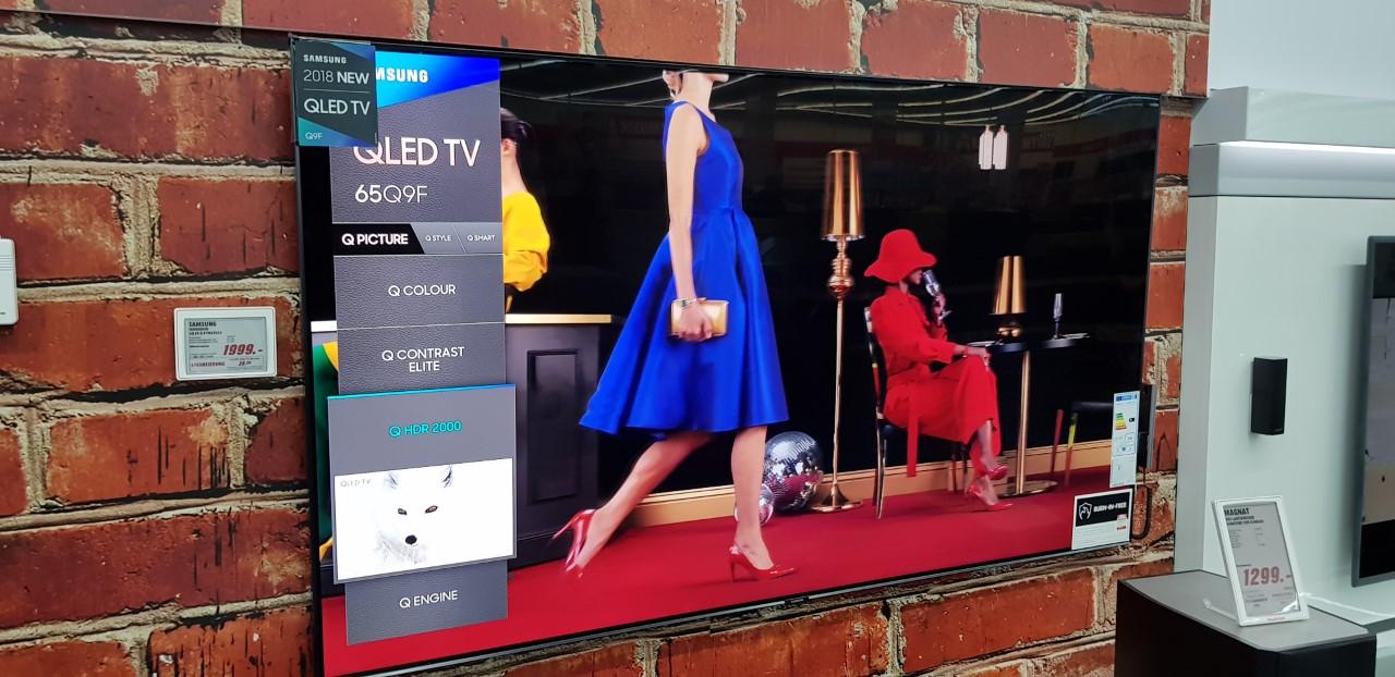 [Lokales Angebot/Offline] Samsung GQ 65 Q9 FN 65Zoll QLED TV [MediaMarkt Wiesbaden Hasengarten]