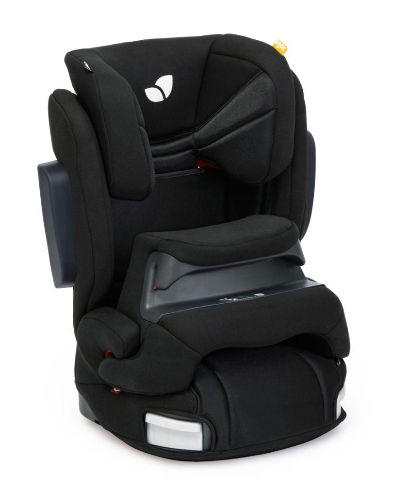 Kindersitz Joie Trillo Shield, Inkwell Schwarz, Gr. 9-36 kg 9 Monate - 12 Jahre, Isofix, inkl. Sitzverkleinerer