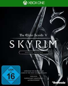 The Elder Scrolls V: Skyrim Special Edition (Xbox One & PS4) für je 16€ (Amazon Prime)