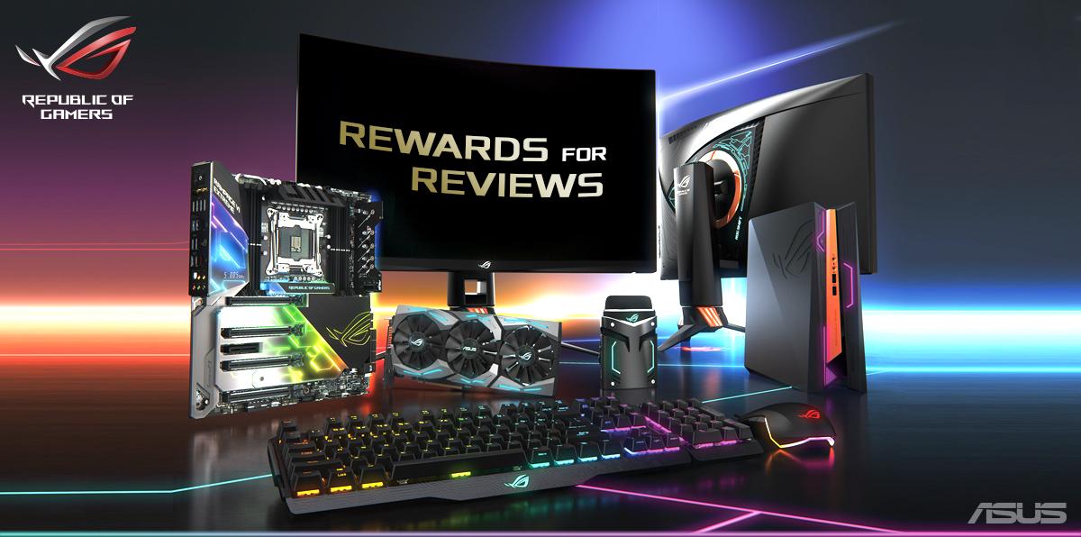 [ASUS] Produkt bewerten und 25€ Cashback auf ausgewählte Hardware Produkte von ASUS erhalten