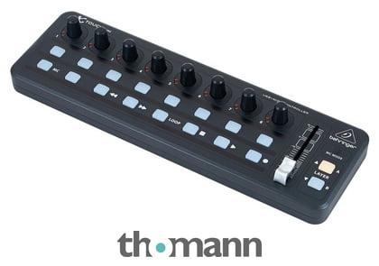 Behringer X-Touch Mini Controller Alternative zu Loupedeck für Adobe Lightroom