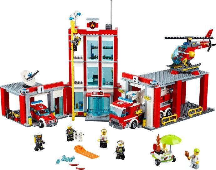 [Dodenhof] 60110 LEGO® CITY Große Feuerwehrstation 60110