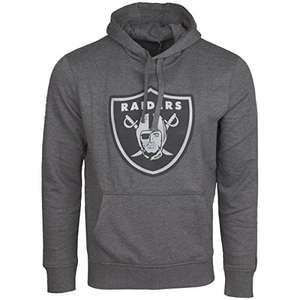 [Amazon MP] New Era NFL Football Hoody - Raiders/Panthers/Broncos grau