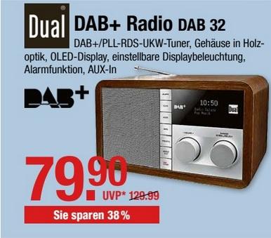 [ Bayern ] Dual Dab 32 für 79,90€ @ V-Markt Fillialen