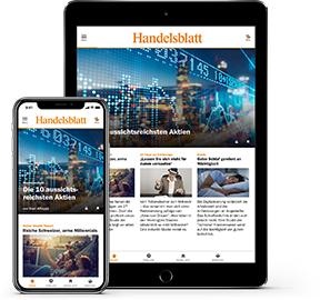 Handelsblatt Digitalpass 3 Monate für 9,99 - nur bis 14:00