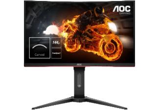 AOC C27G1 ergonomischer 27''-FHD-Curved-Gaming-Monitor mit 144Hz, 99% sRGB und FreeSync für 219€ [Saturn]