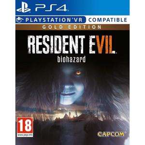 Resident Evil 7: Biohazard Gold Edition (PS4) für 22,98€ (cdiscount)