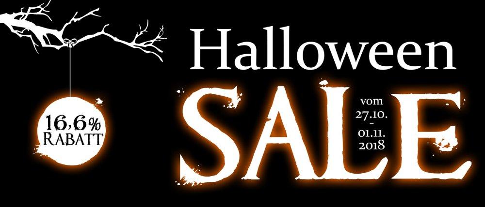 Halloween SALE 16,6 % + Vorkasse 5% bei koffer-direkt.de