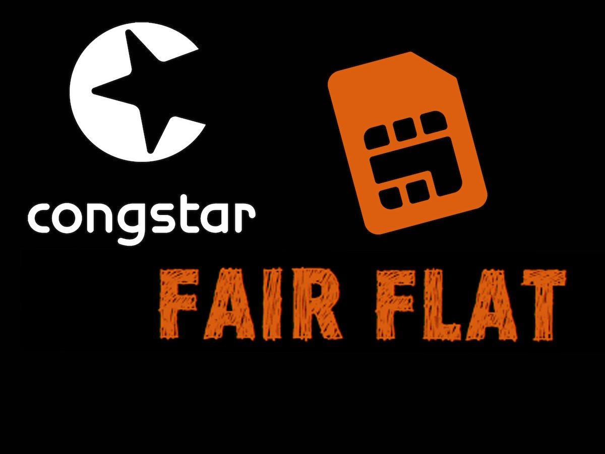 congstar Fair Flat ab 15€ bis max 35€ pro Monat wahlweise mit LTE ohne Laufzeit und flexibel im Telekomnetz