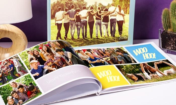 Groupon: Colorland Fotobuch Hardcover Hoch/Querformat hochglanz 100 Seiten - 28-140 Seiten