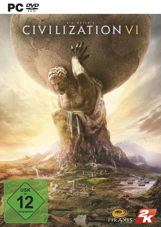 Sid Meier's Civilization VI (PC Retail) für 10€ (GameStop & Amazon Prime)