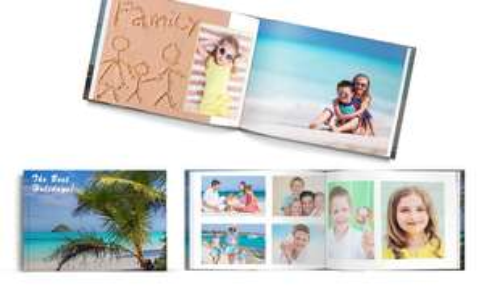 Printerpix - zB. Hardcover Fotobuch A5 mit 20 Seiten für 1€ zzgl. Versand [Groupon]