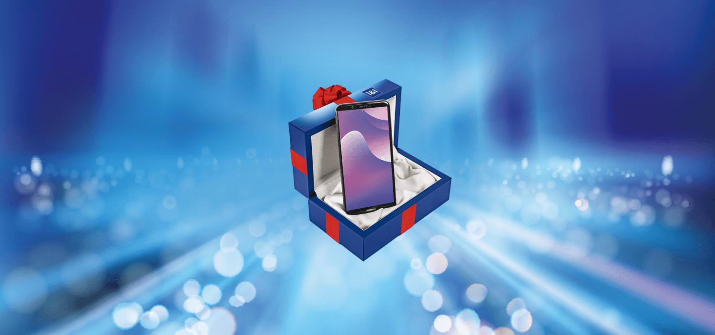 [1&1] Weihnachtspaket / Huawei Y7 inkl ANF mit 1GB im Telefonica Netz