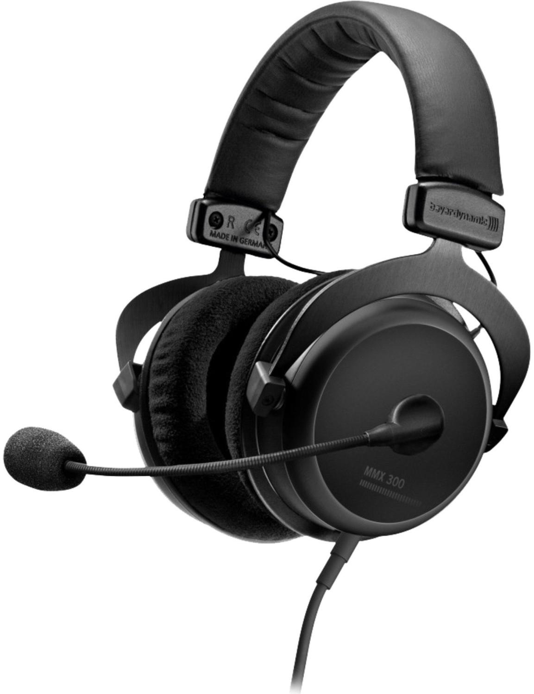 Beyerdynamic MMX 300 Over-Ear Gaming Headset (2. Generation) (40mm Neodym Treiber, 5-32.000Hz, 32Ohm, 96dB)