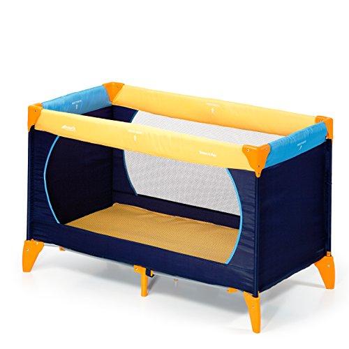 [AMAZON PRIME] Hauck Kinderreisebett Dream N Play / inklusive Matratze und Transporttasche / 120 x 60cm / ab Geburt / tragbar und faltbar