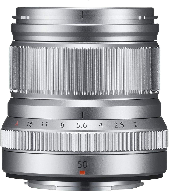 Fujifilm Fujinon XF50mm F2 R WR Objektiv silber evtl. exkl. 50€ Caschback
