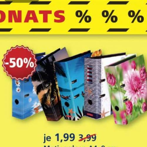 McPaper Sale z.B. Breite Motivordner für 1,99