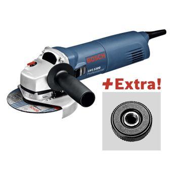 Bosch GWS 1100 Winkelschleifer 125mm mit SDS Click für 64,99€ [Stabilo]