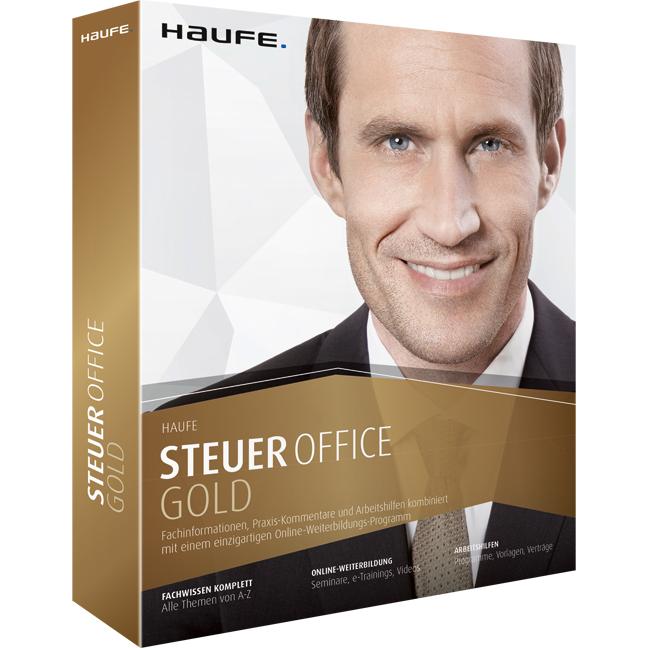 Zugang zur Steuer Office Gold von Haufe (Wissensdatenbank für Steuerberater online)
