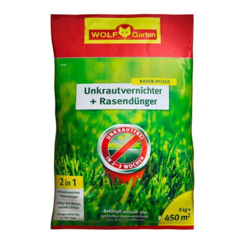 WOLF GARTEN Unkrautvernichter + Rasendünger 2in1 SQ 450