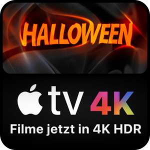 Halloween Horror Deals bei iTunes - 4K HDR / Dolby Vision & Atmos ab 5,99€ zum Kauf (The Conjuring, Annabelle 1 &2, Lights Out, etc.)