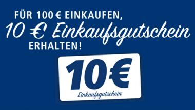 10€ Gutschein ab einem Einkauf von 100€ erhalten [Real,-]