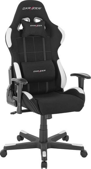 Gaming Stuhl DX Racer 1 schwarz/weiß Mömax F-Serie