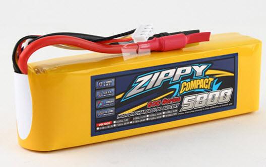 HobbyKing Lipo ZIPPY Compact 5800mAh 3s 60c für Traxxas, Arrma, Team Magic etc.
