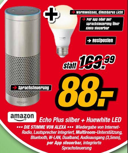 [lokal Meckenheim] Grüne Woche bei IKS: z.B. Echo Plus (1. Generation) + Philips Hue White LED