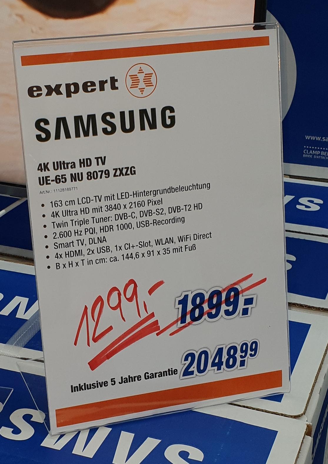 Lokal Freising Samsung 65 NU 8079
